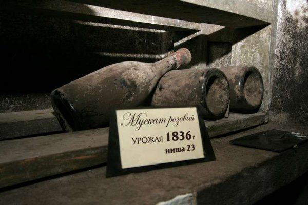Мускат рожевий Магарач 1836