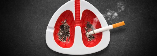 Smoking as a consequence of bronchitis