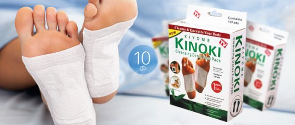 Detoxification patches Kinoki