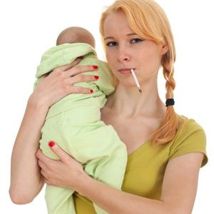 Nicotine in breast milk