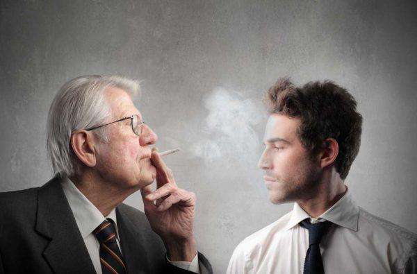 пассивного курения