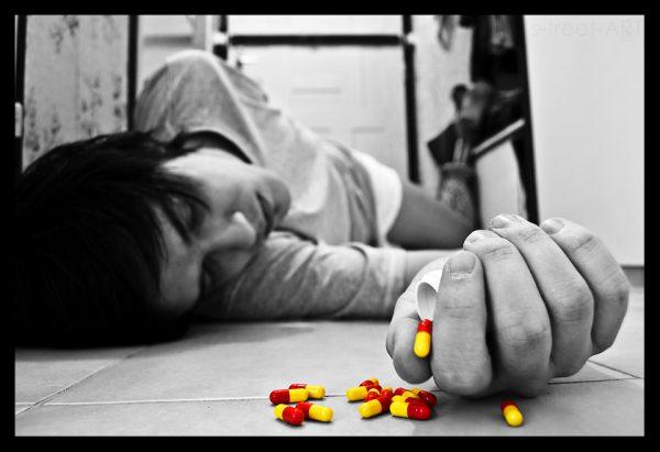 Суіцыд, наркотыкі