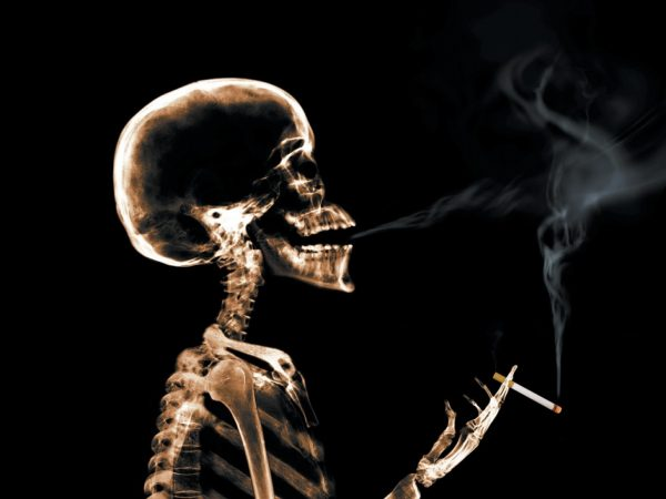 does Smoking on the kidneys