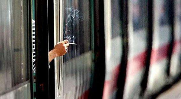 курить в поездах
