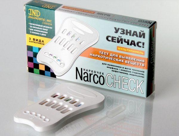 тест на наркотик