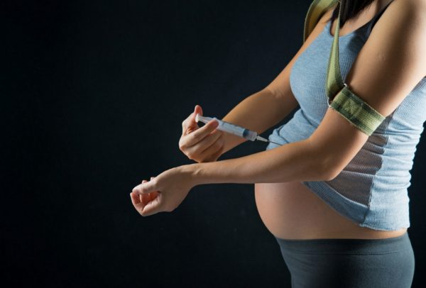 Many women begin to indulge in drugs even before conception.