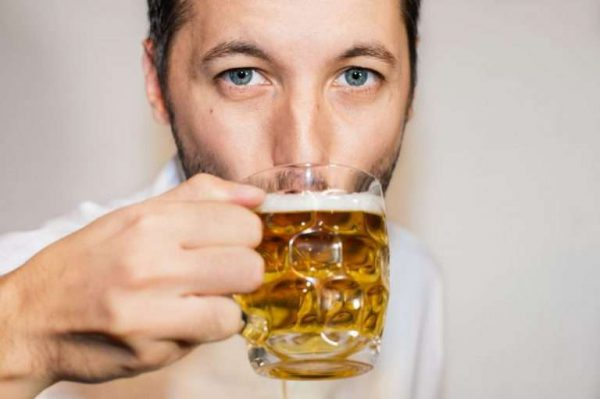 if a man drinks a beer every day