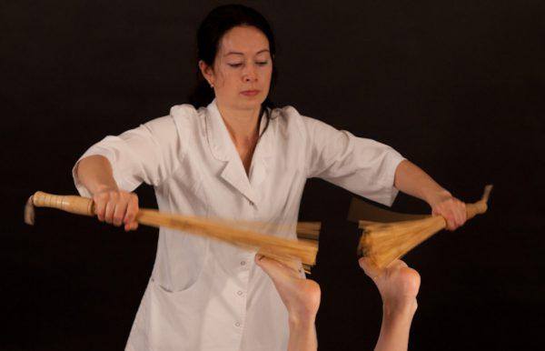 Лечение поркой на практике