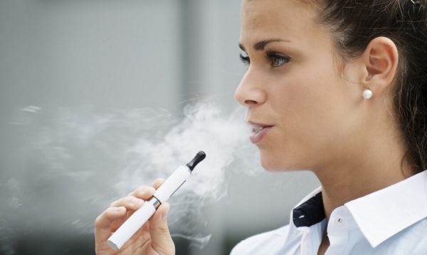 Electronic cigarette - it's only a tiny step to breaking a bad habit.