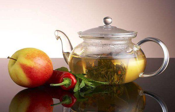 зялёны чай з пахмелля