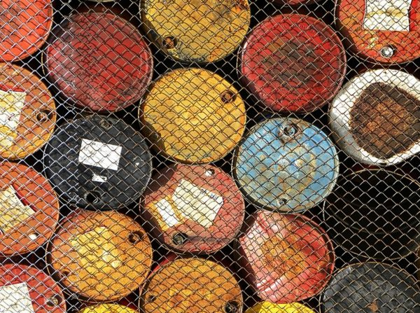 barrels of gasoline