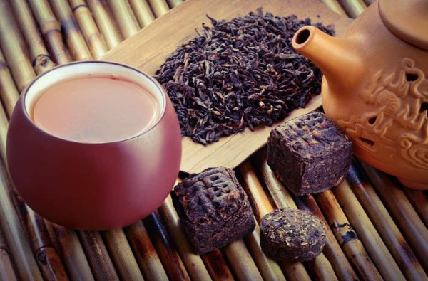 Tea intoxication from Puer,