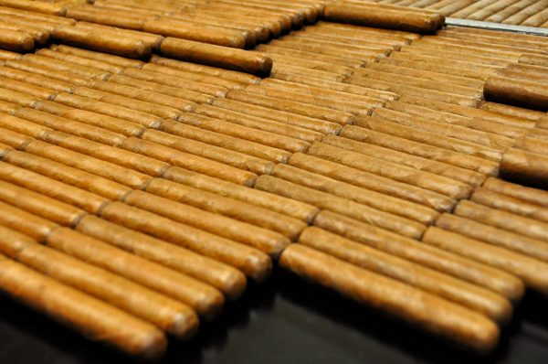 The composition of cigars
