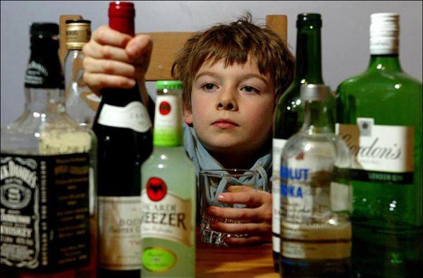 Влияние алкоголизма на молодых людей