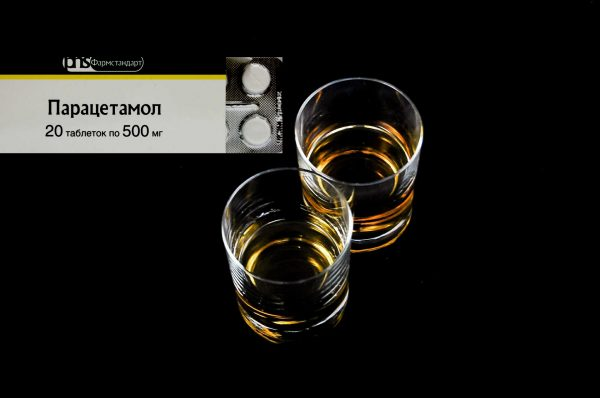 Paracetamol and alcohol