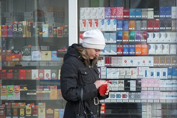 the increase in cigarette prices in 2017 year
