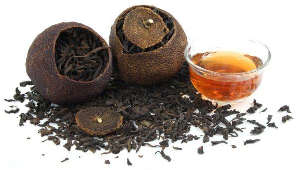 Курение зеленого и черного чая