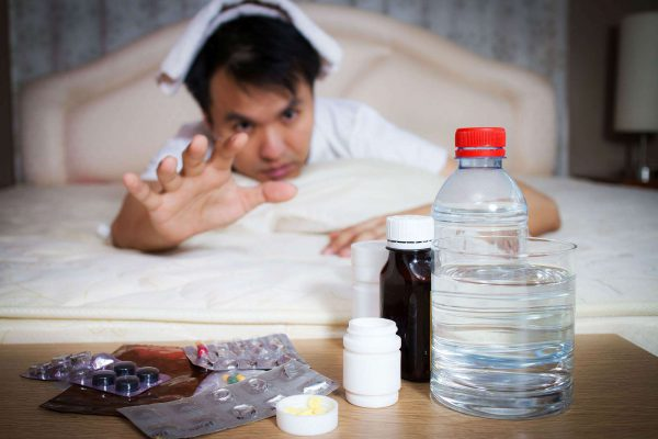 can acetylsalicylic acid with a hangover,