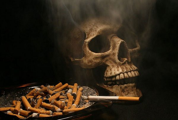 как действует никотин на нервную систему