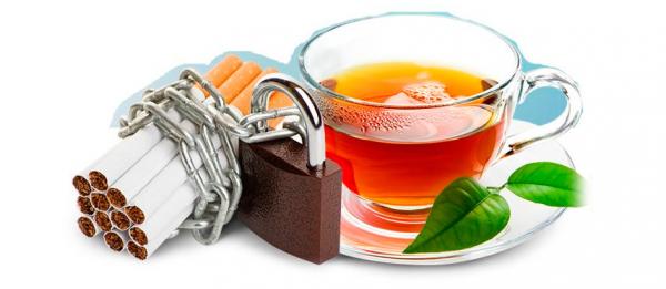 Курю и пью чай