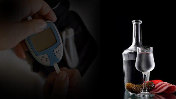 при сахарном диабете можно алкоголь
