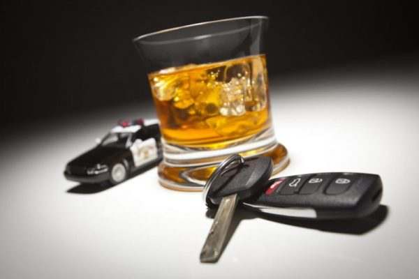Alcohol in the blood of the motorist