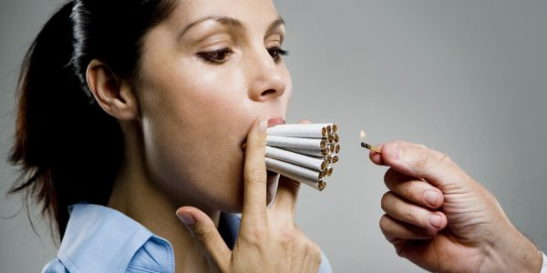 Smoking gastritis