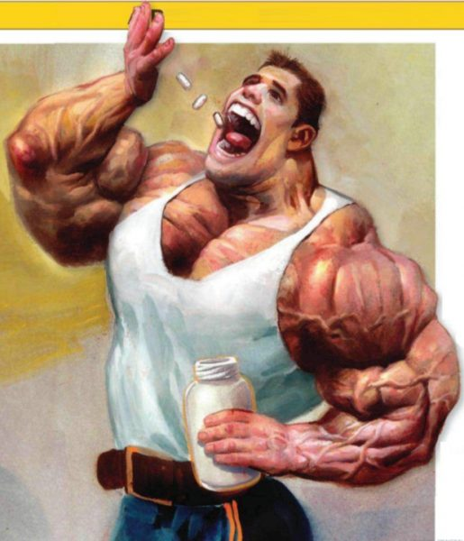 Применение анаболических стероидов