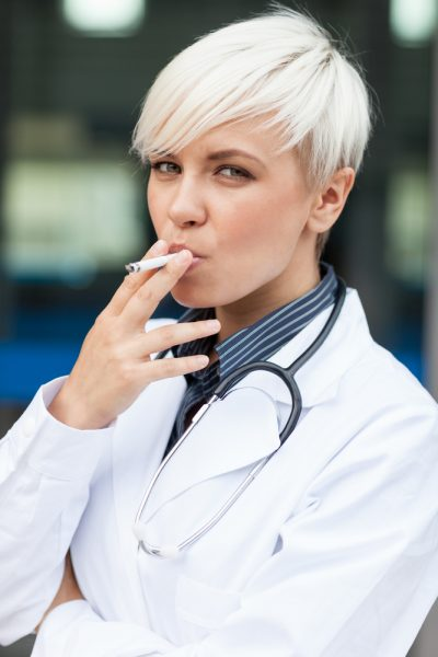 smoke whether doctors