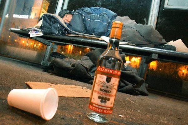 Алкогольная деградация признаки